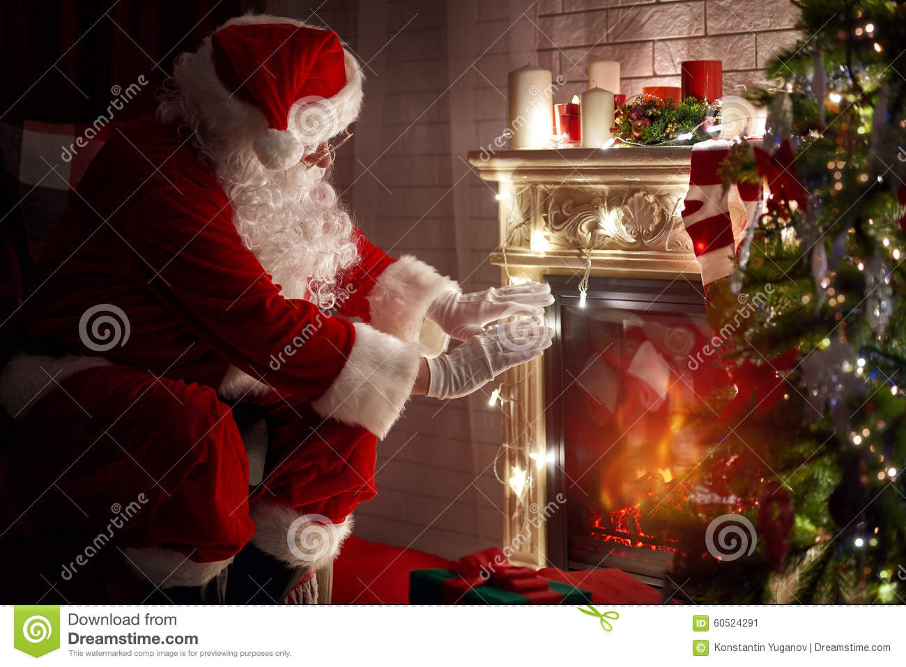 Santa Claus Stock Photo Image 60524291