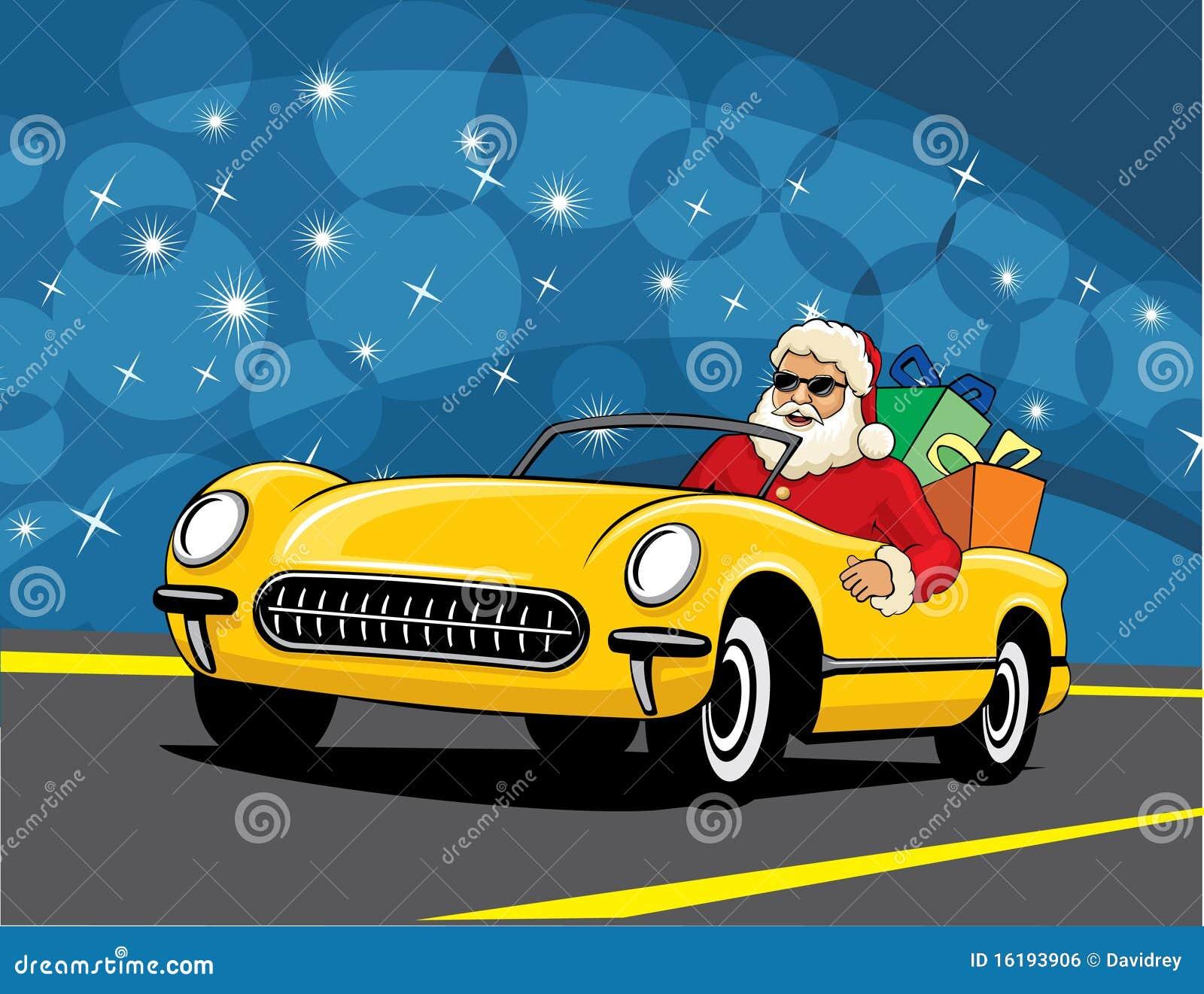 Christmas Tree Sports Car