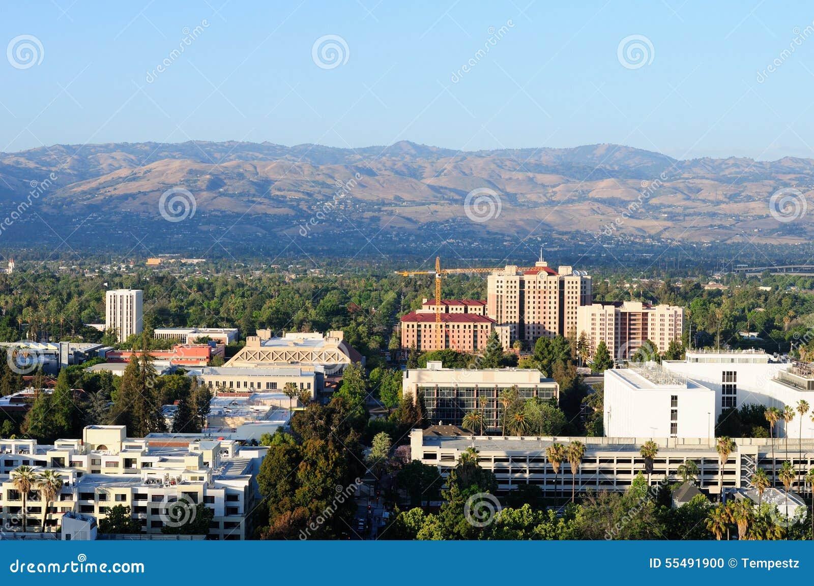 Santa Cruz berg och San Jose