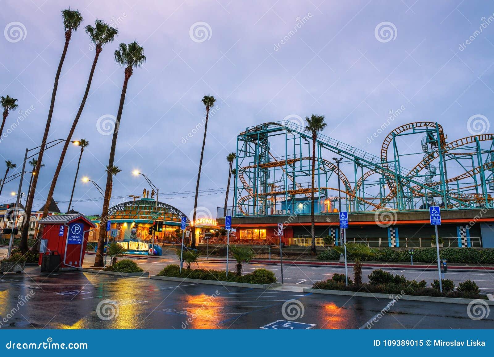 Santa Cruz Boardwalk y parque de atracciones
