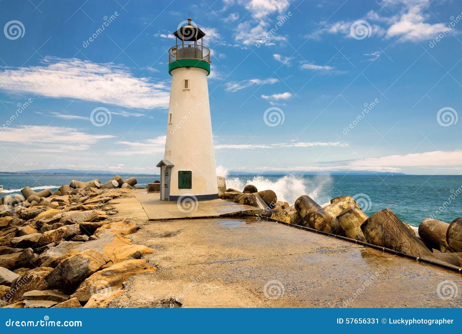 Santa Cruz falochronu latarnia morska, Kalifornia