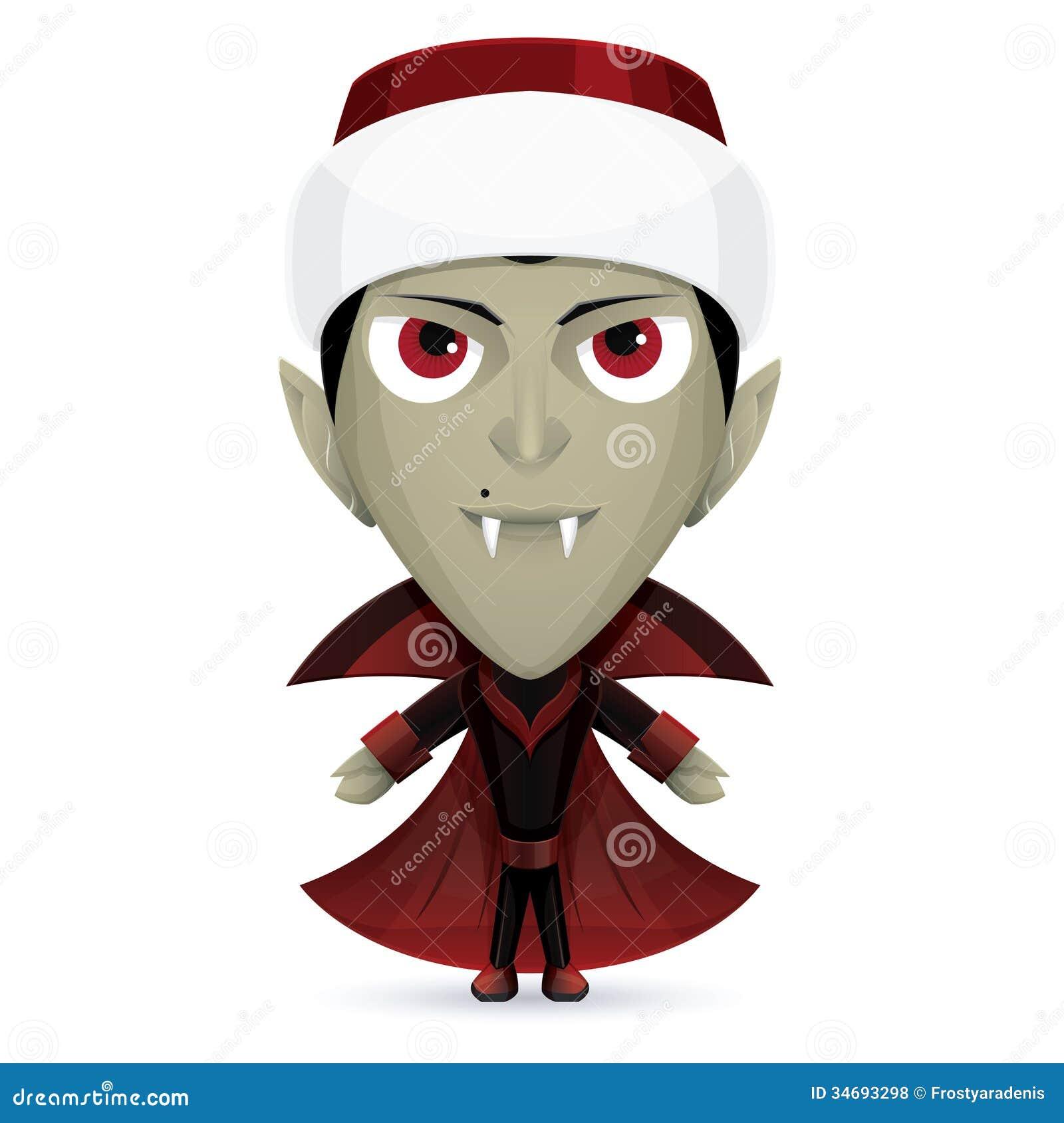 Santa Dracula Royalty Free Stock Photos Image 34693298