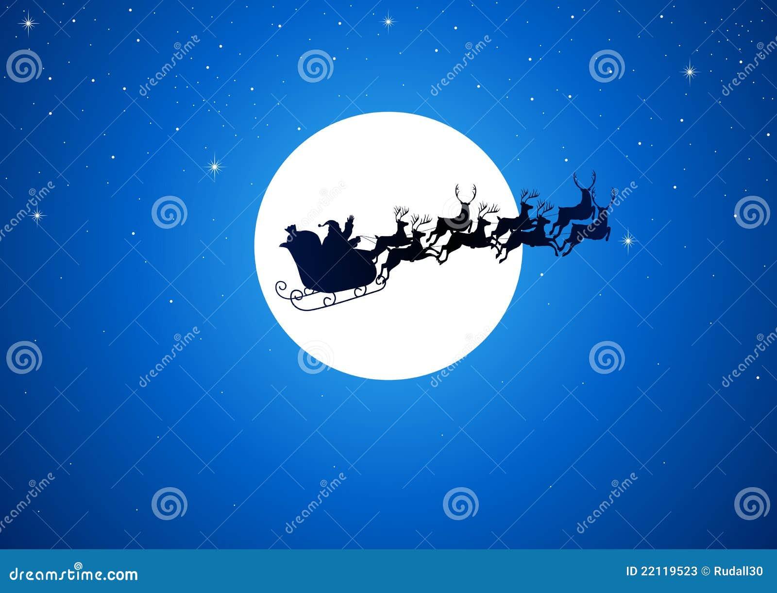 Santa e a lua