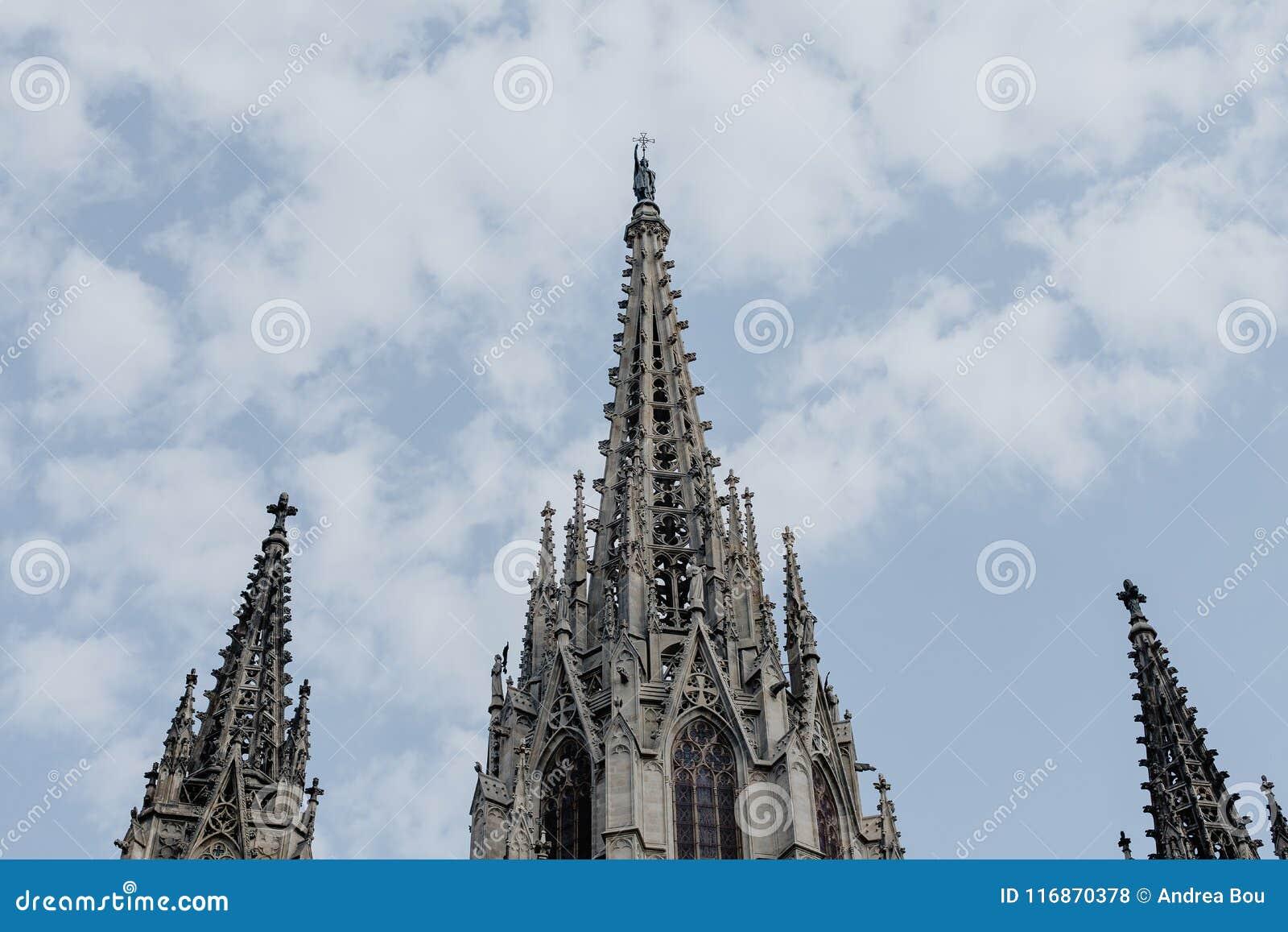 Santa Eulalia katedra Barcelona