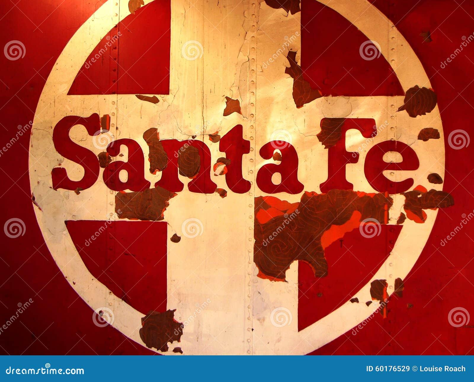 Santa Fe Train Logo