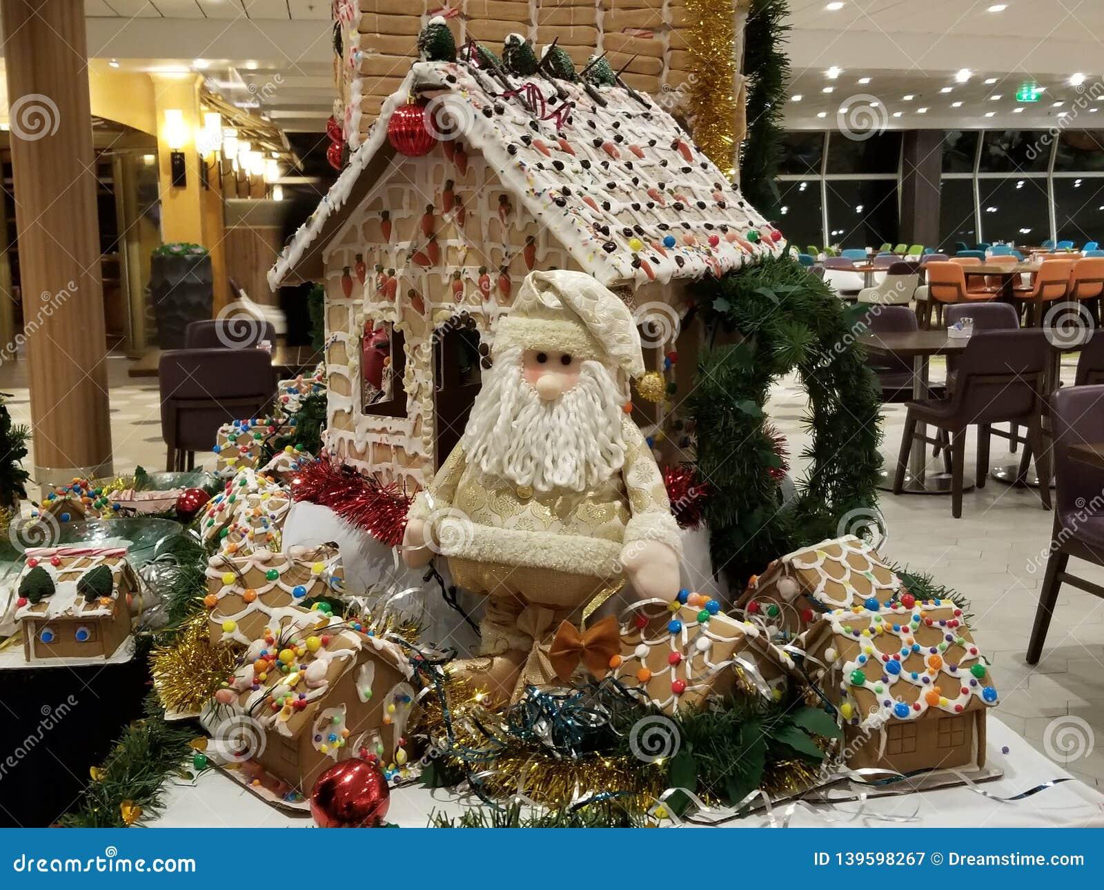 Santa and Gingerbread
