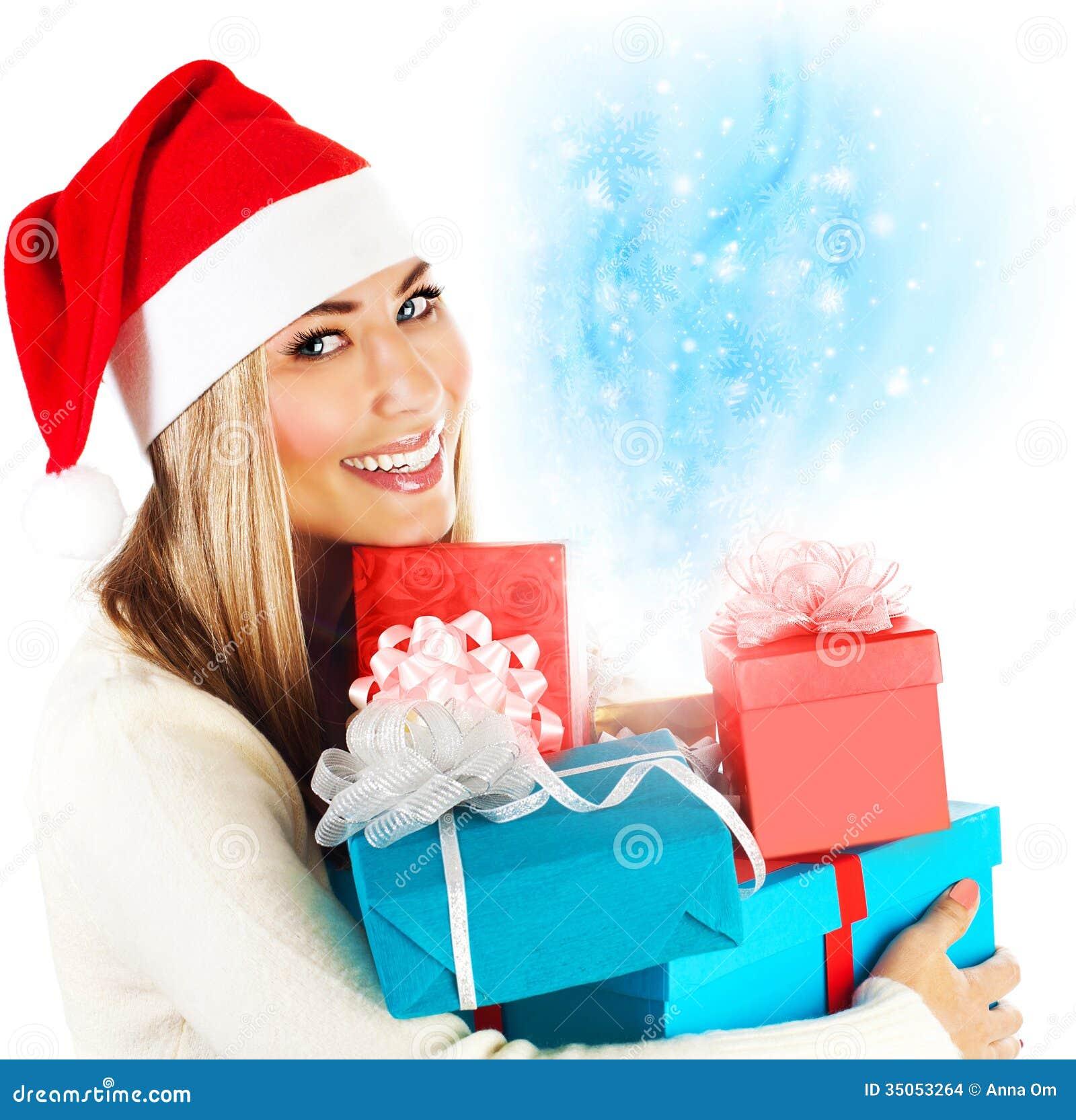 Фото от девушек с подарками