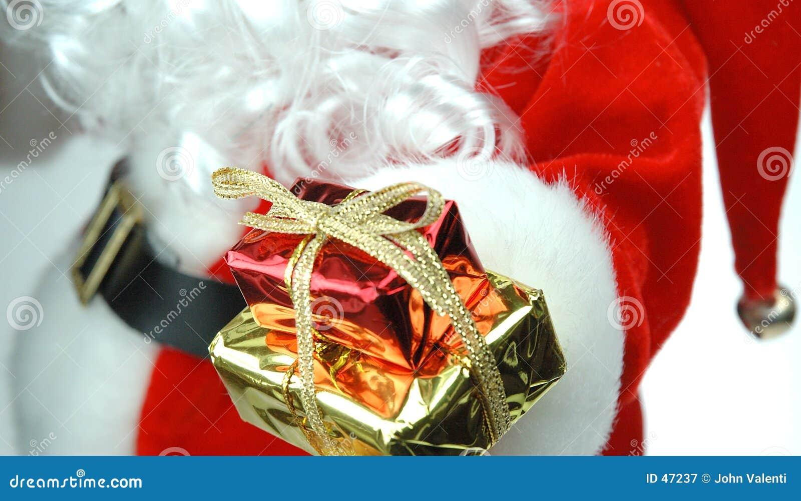 Santa Giving