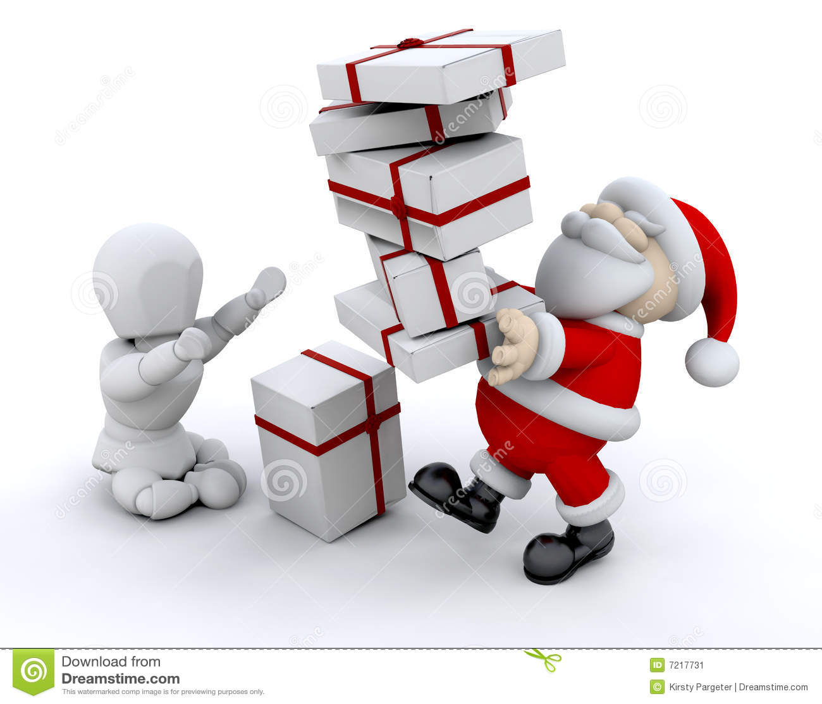 Santa giving gifts stock illustration illustration of gift 7217731 santa giving gifts negle Gallery