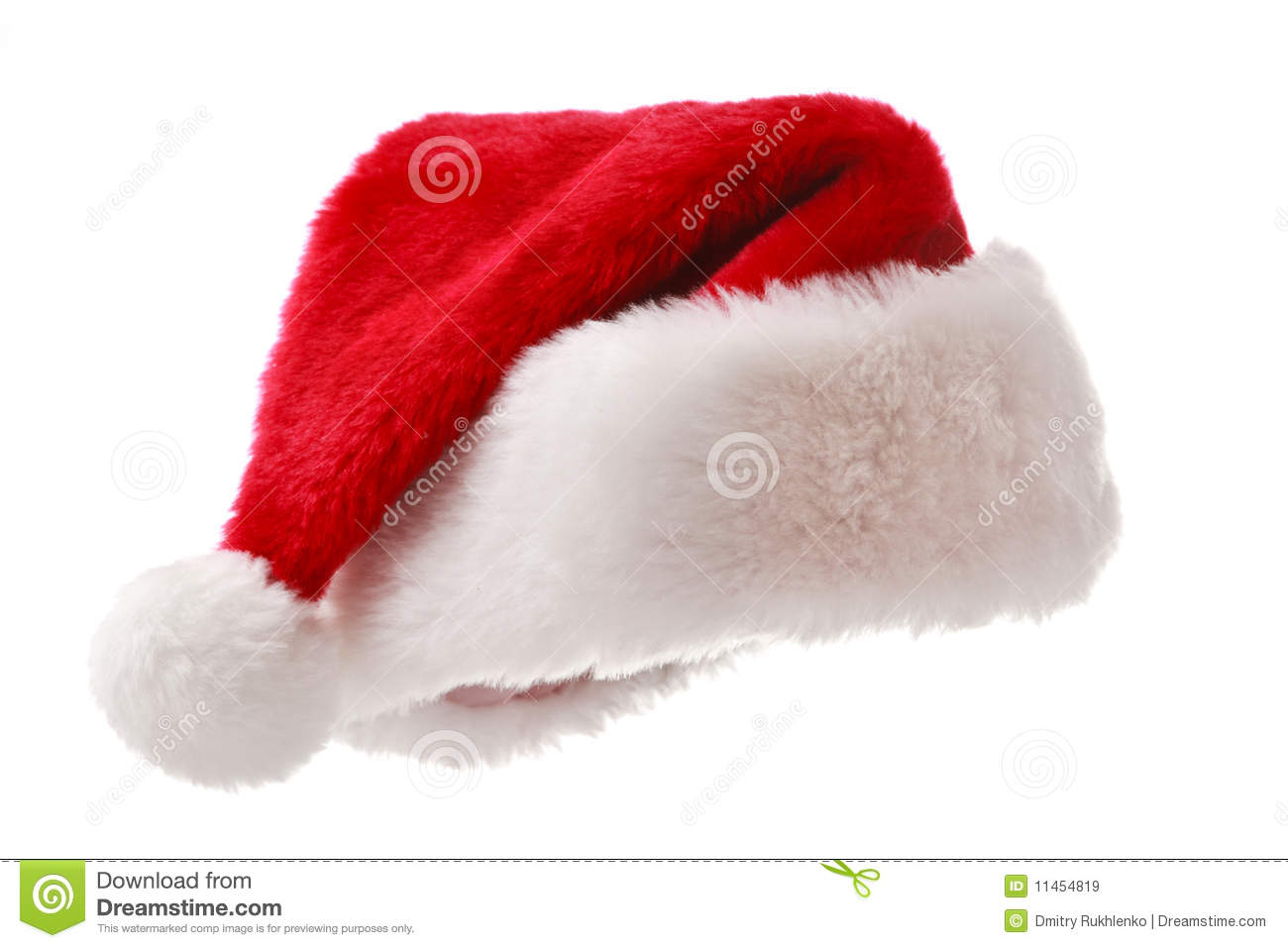 Santa Hat Santa hat isolated on white
