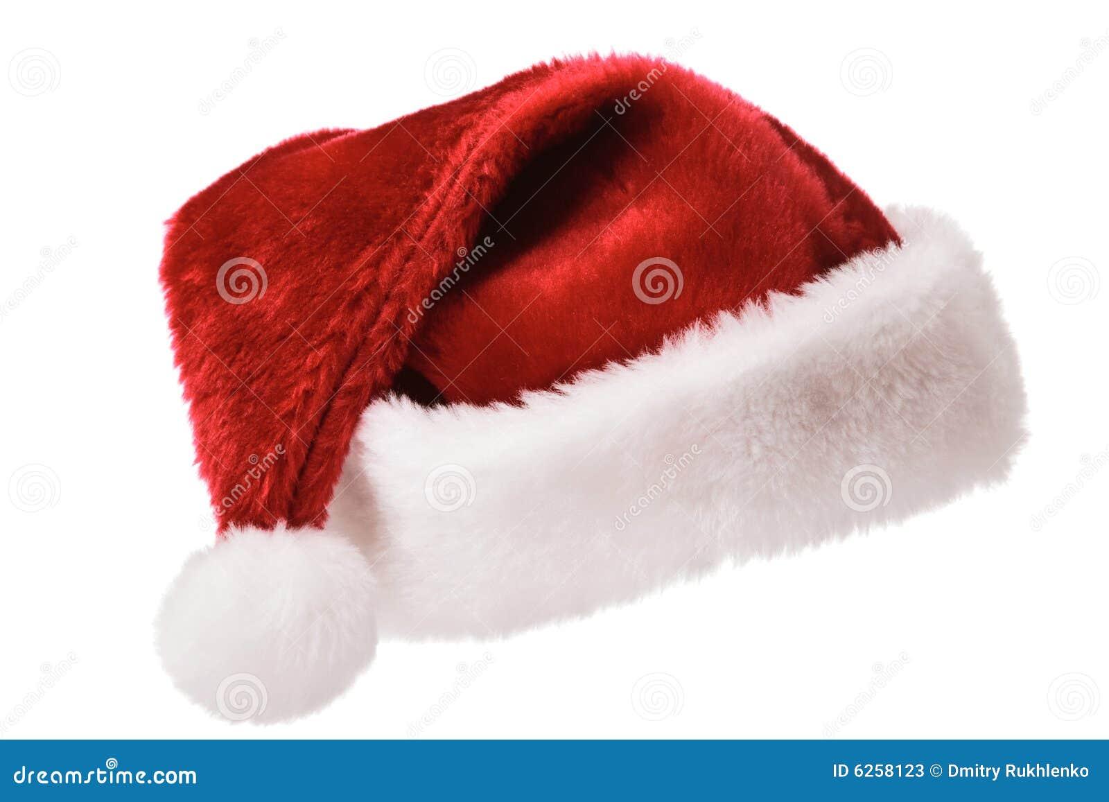 santa hat isolated on white stock image image of white