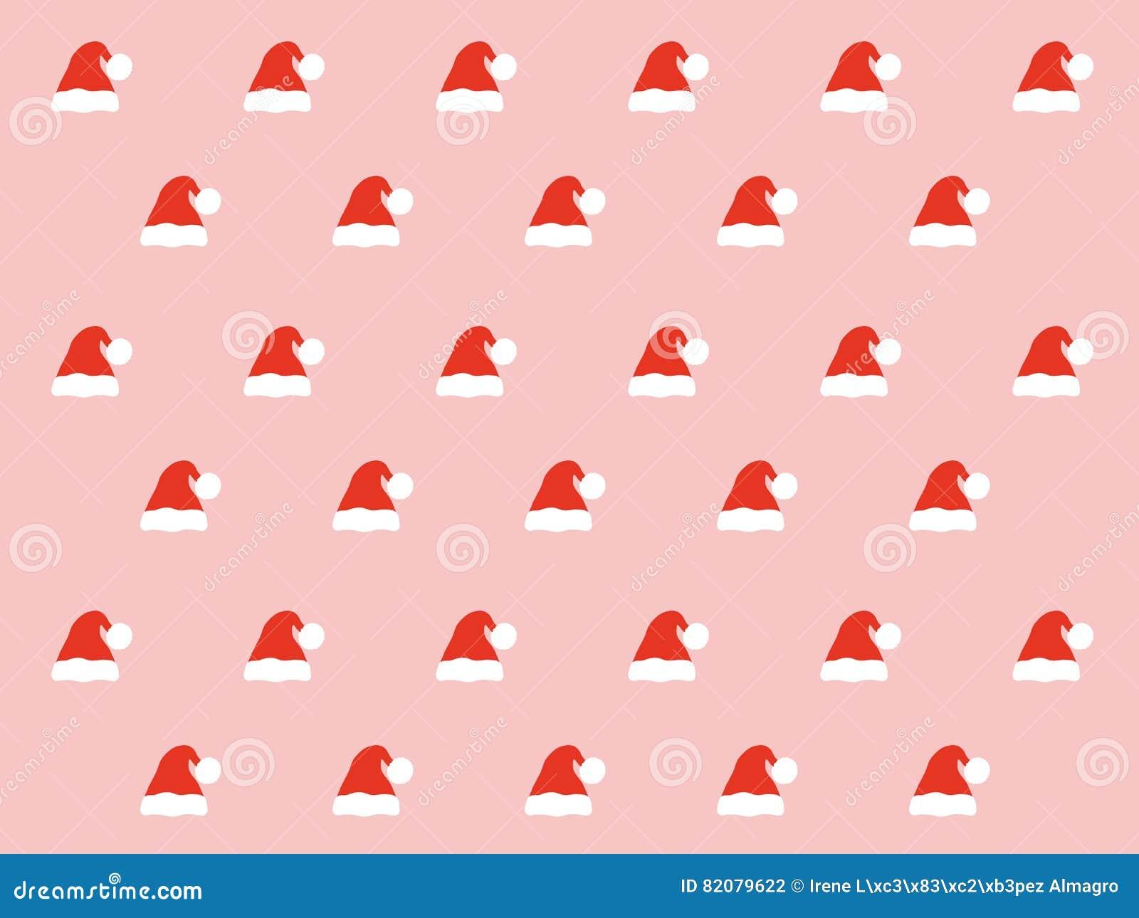 Santa hat pattern stock vector. Illustration of decoration - 82079622 3b90d0dc09d