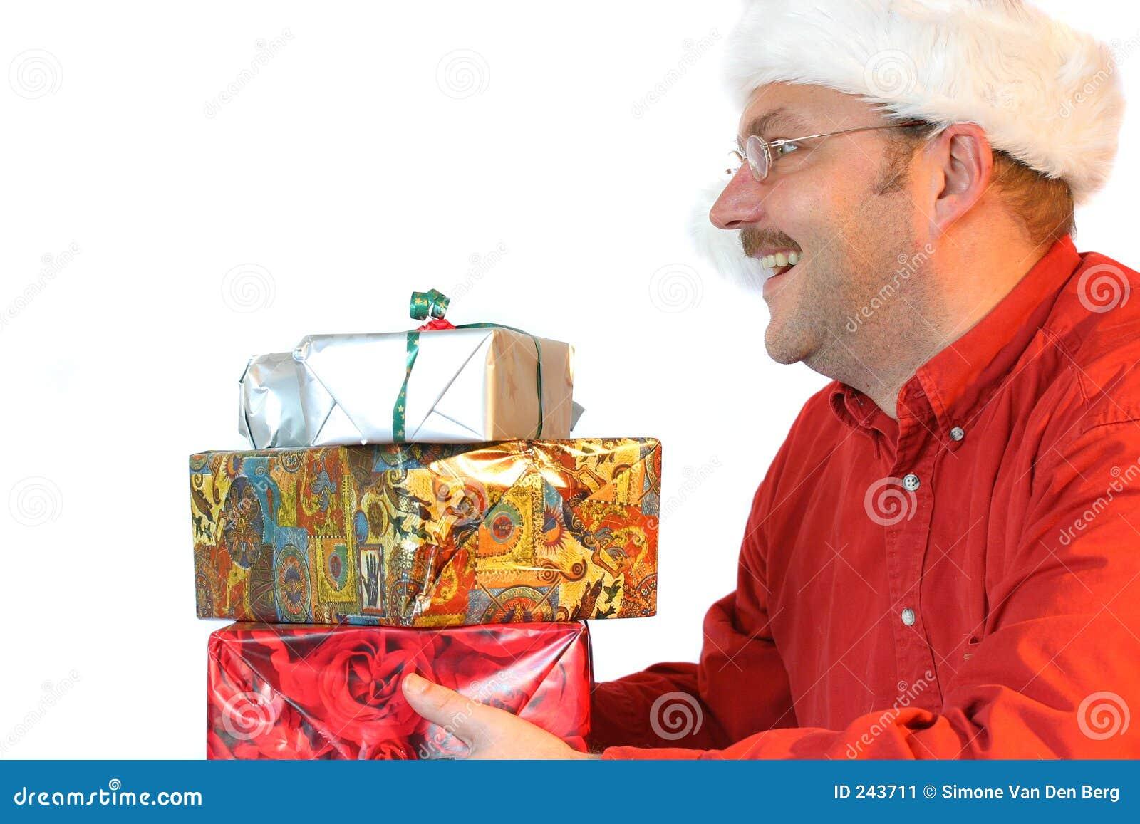 Santa heureuse