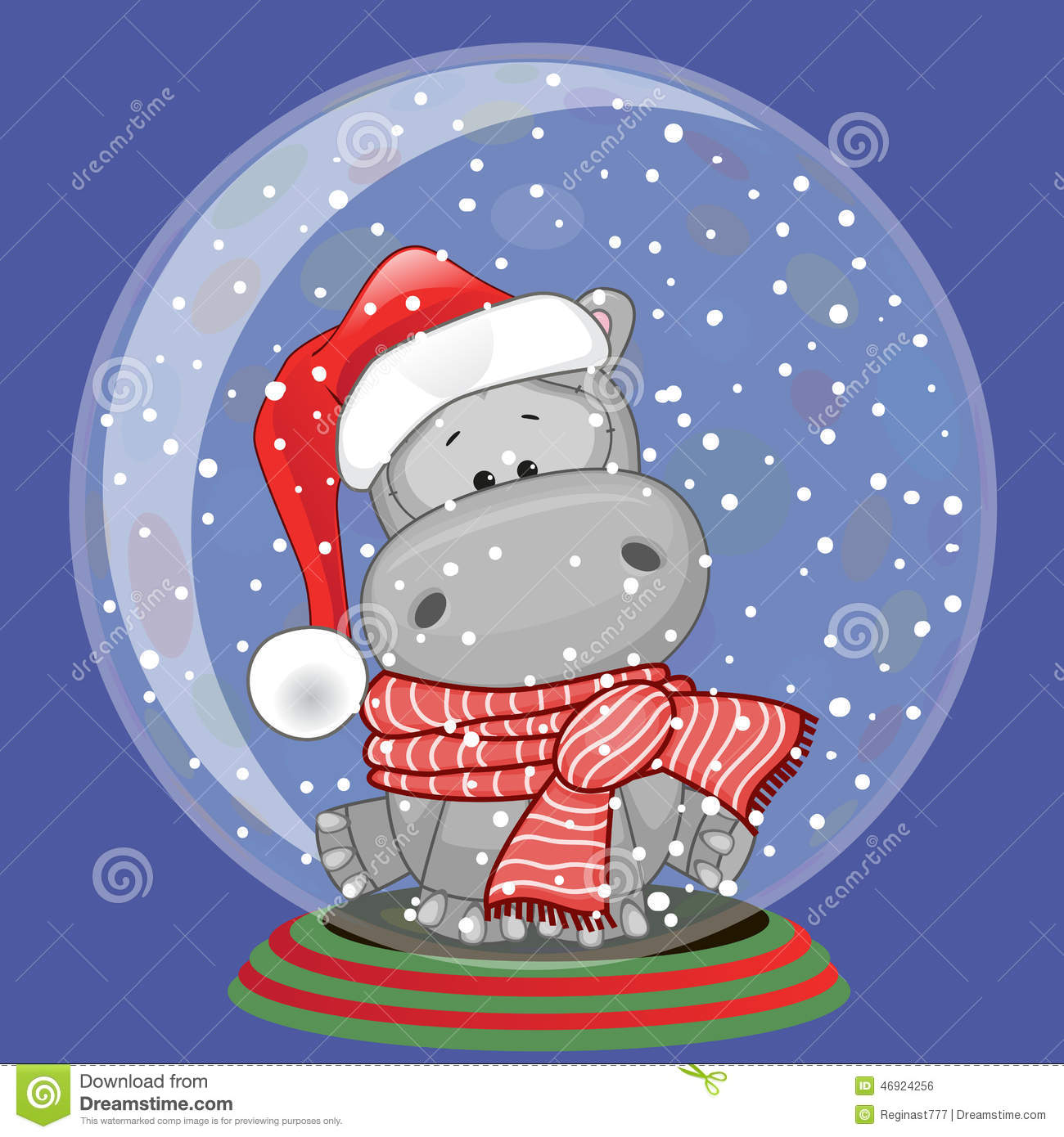 Image result for royalty free images christmas hippo