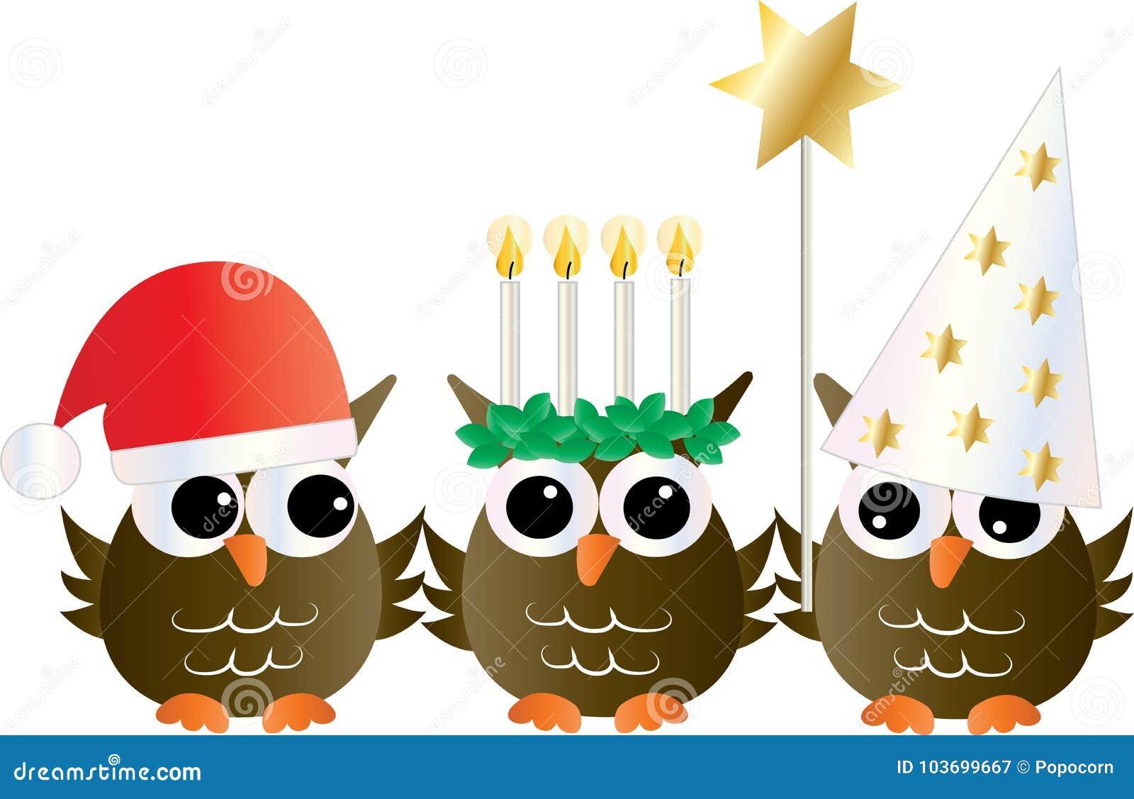 Santa Lucia Swedish Italian christmas tradition