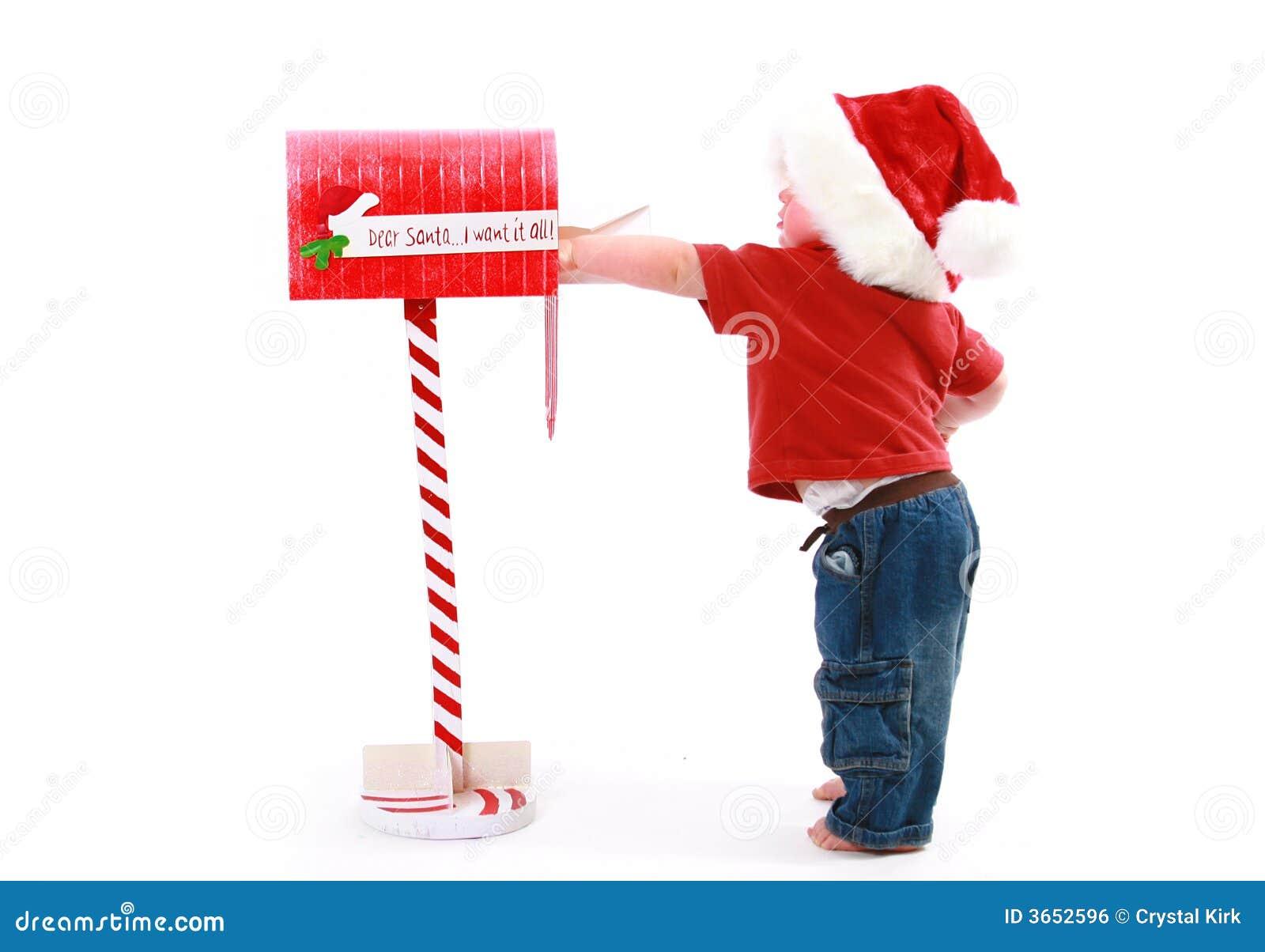 Santa Mailbox Royalty Free Stock Image - Image: 3652596