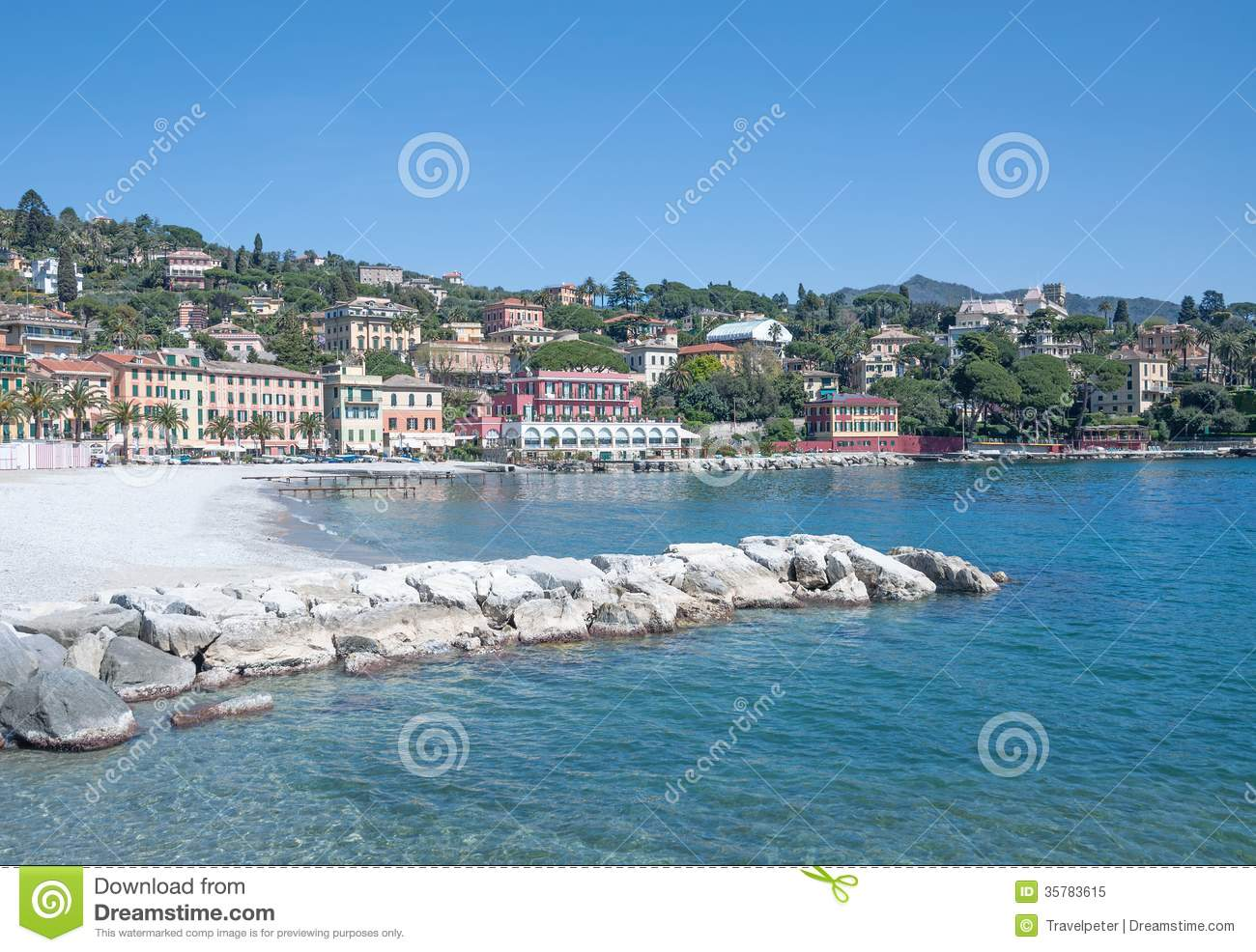 Santa Margherita Ligure Italy  city photos : Santa Margherita Ligure Near Portofino,Liguria,Italy Royalty Free ...