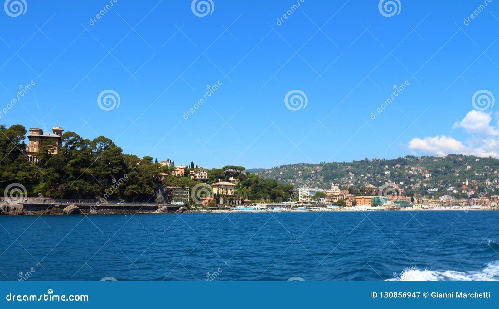 Santa Margherita Ligure, Posizione Italiana Famosa Della ...