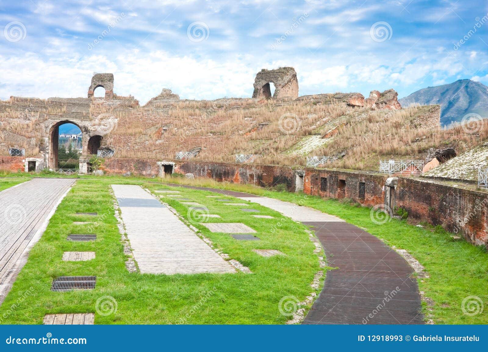 The amphitheater of capua the second biggest roman - Piscina santa maria capua vetere ...