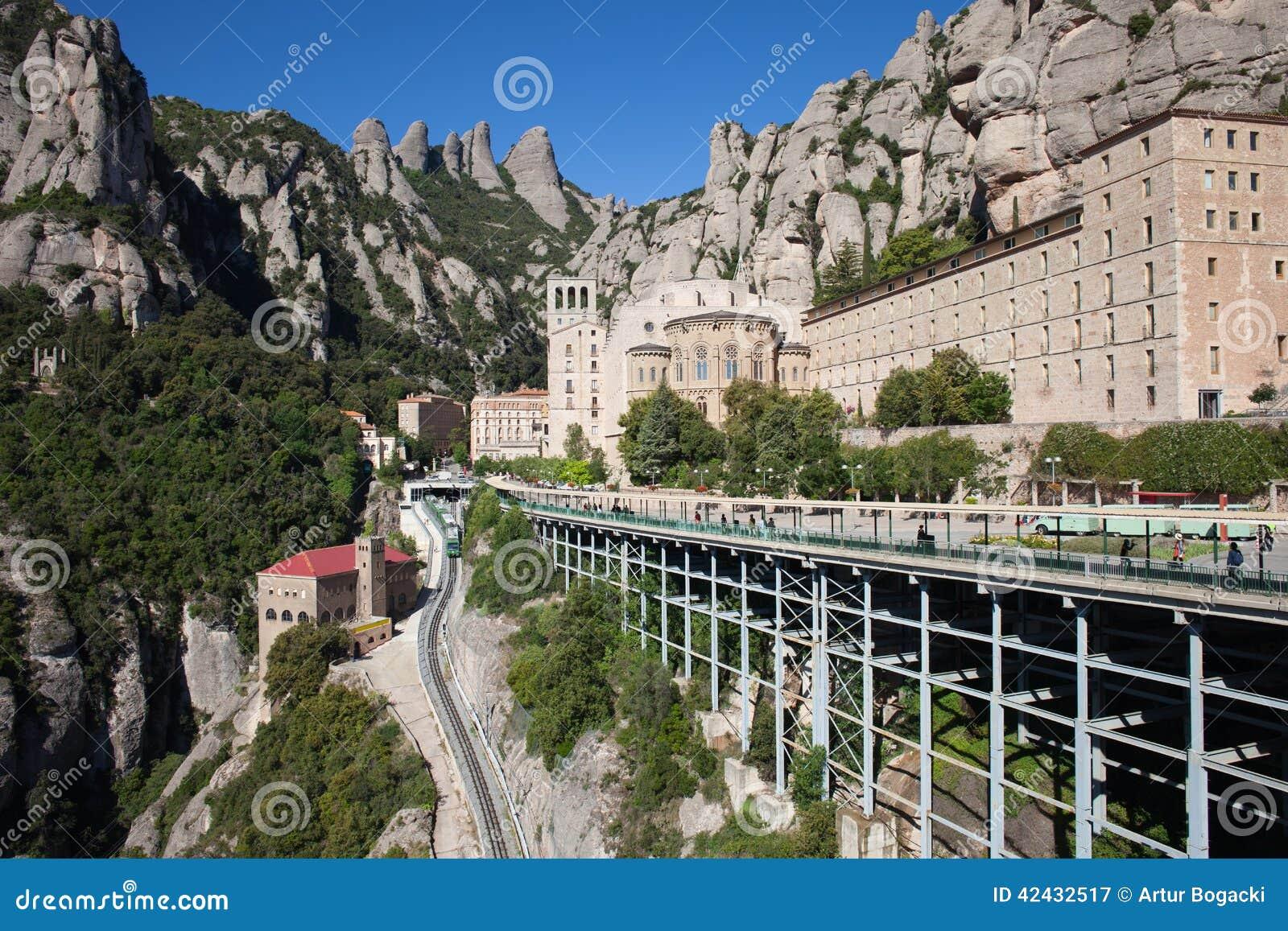 Santa Maria de Montserrat en España