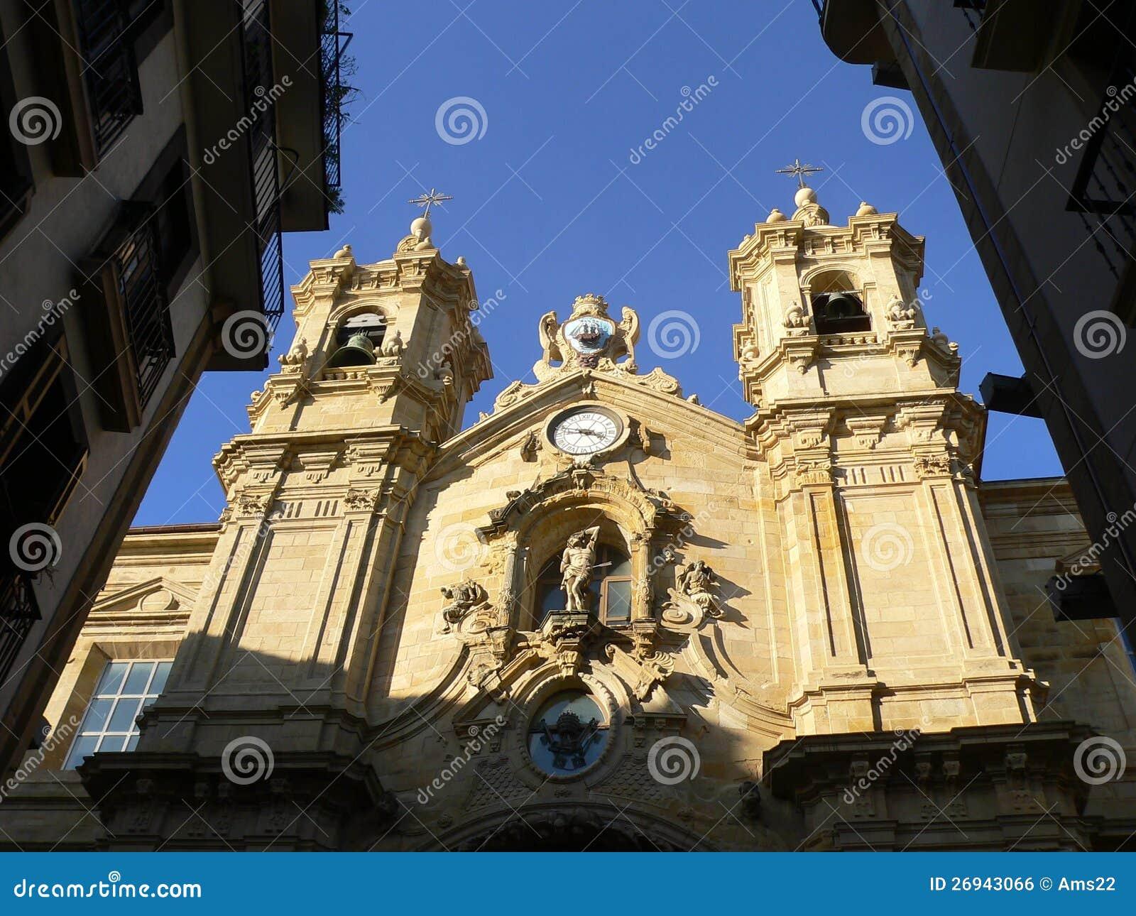 Santa Maria del Coro, Donostia (pays Basque)
