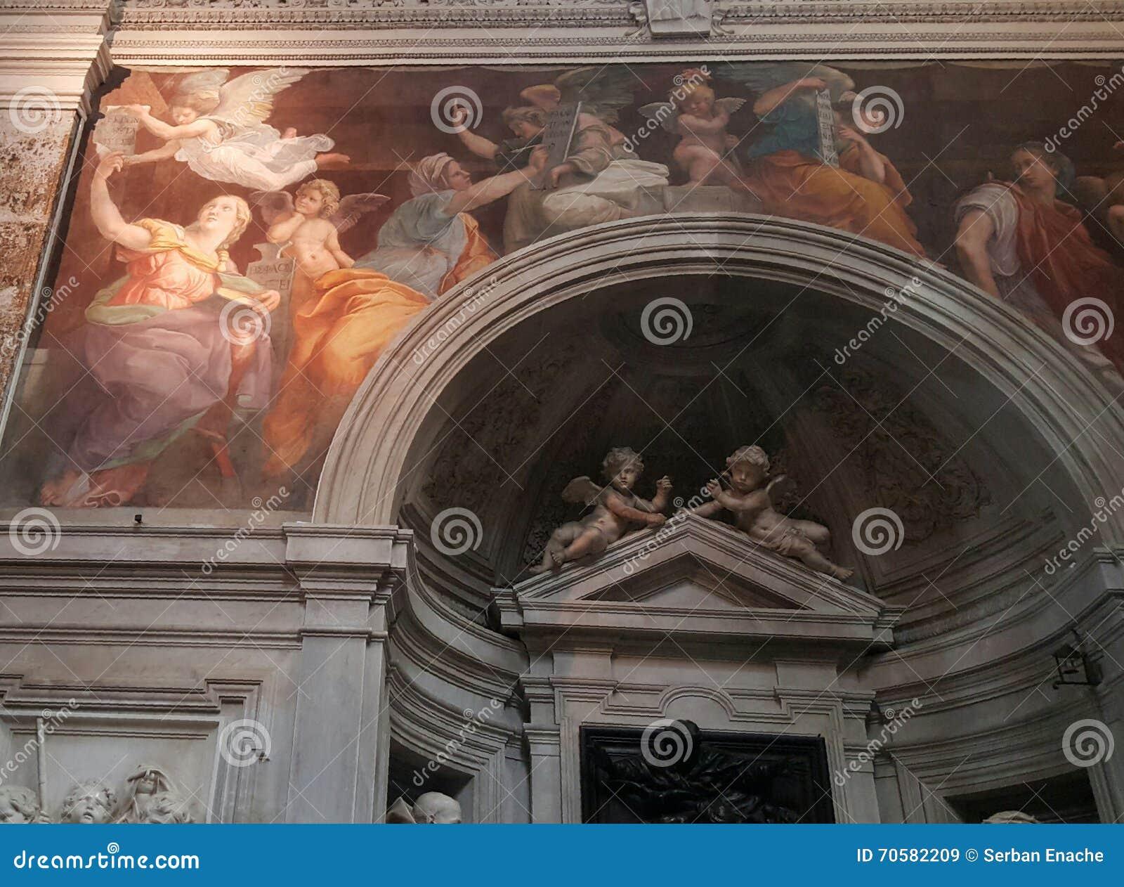 Santa Maria della Pace Church, Rome, Italië