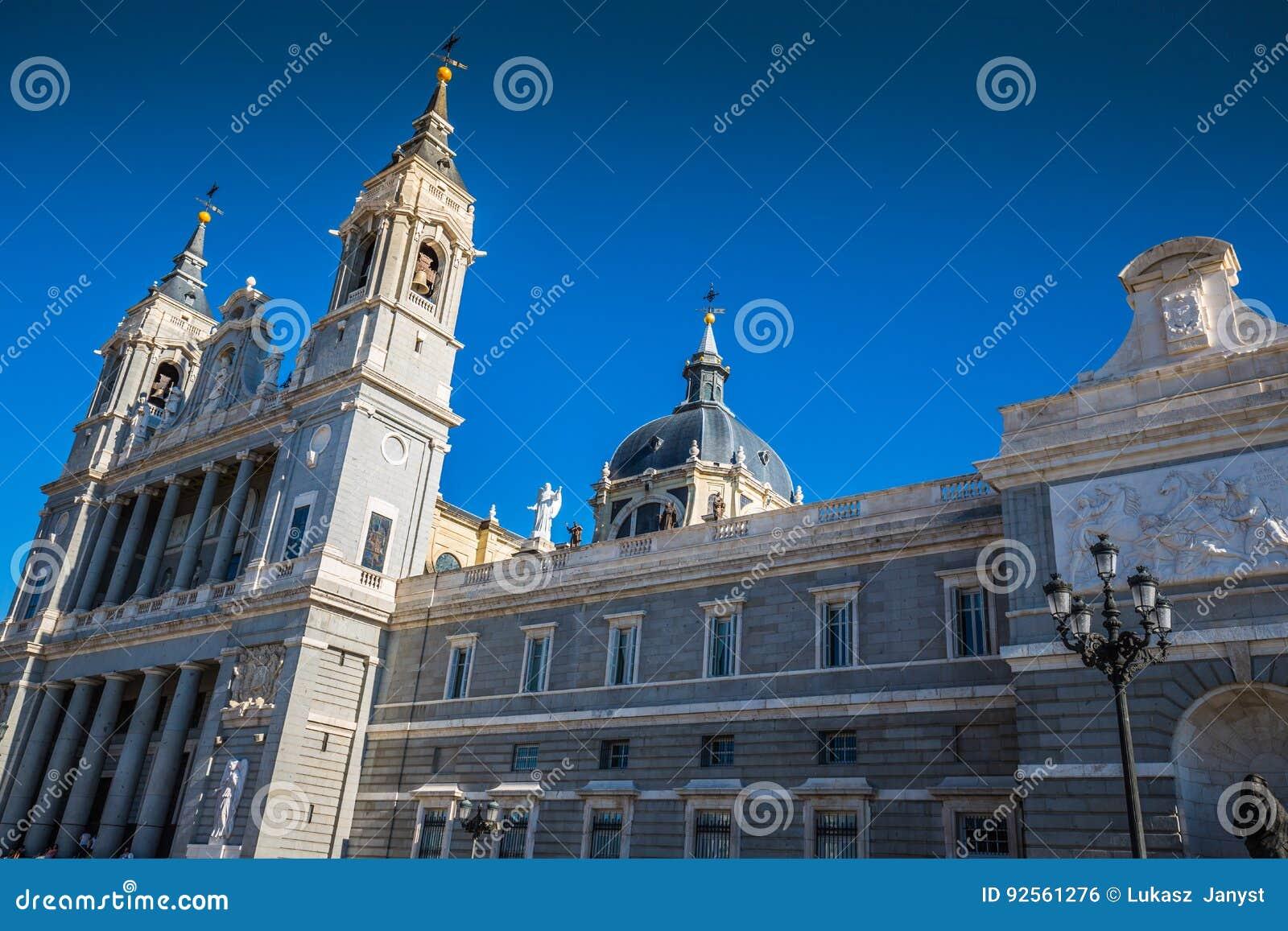 Santa Maria la Real de La Almudena Cathedral, Madrid
