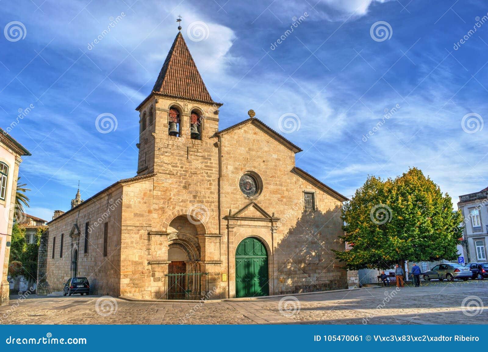 Santa Maria Maior church in Chaves