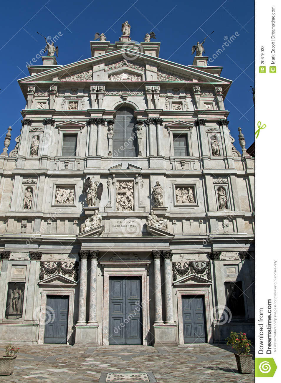 Santa Maria Presso San Celso Stock Photos - Image: 20676033