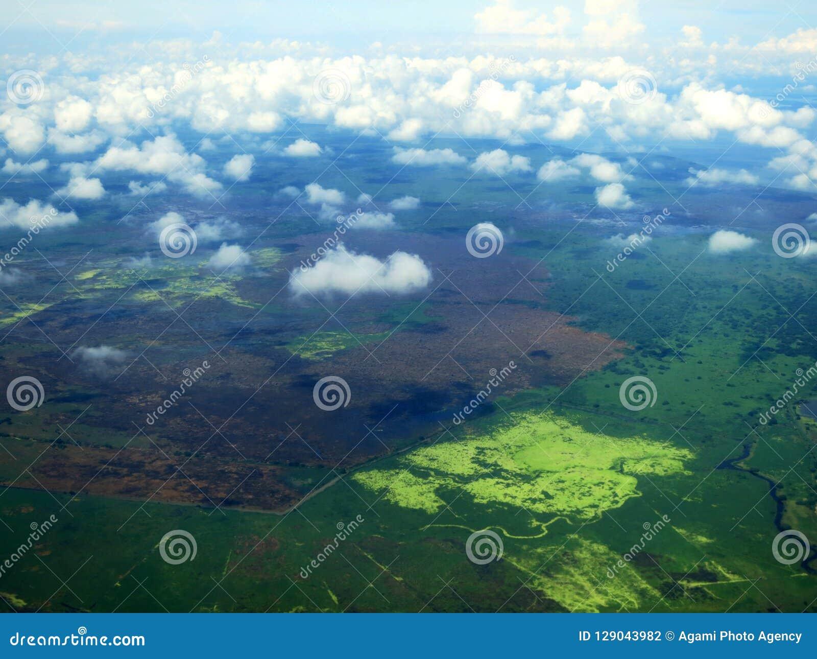 Santa Marta-kust (Kolumbien) Vanuit Het de Lucht; Santa Marta coa