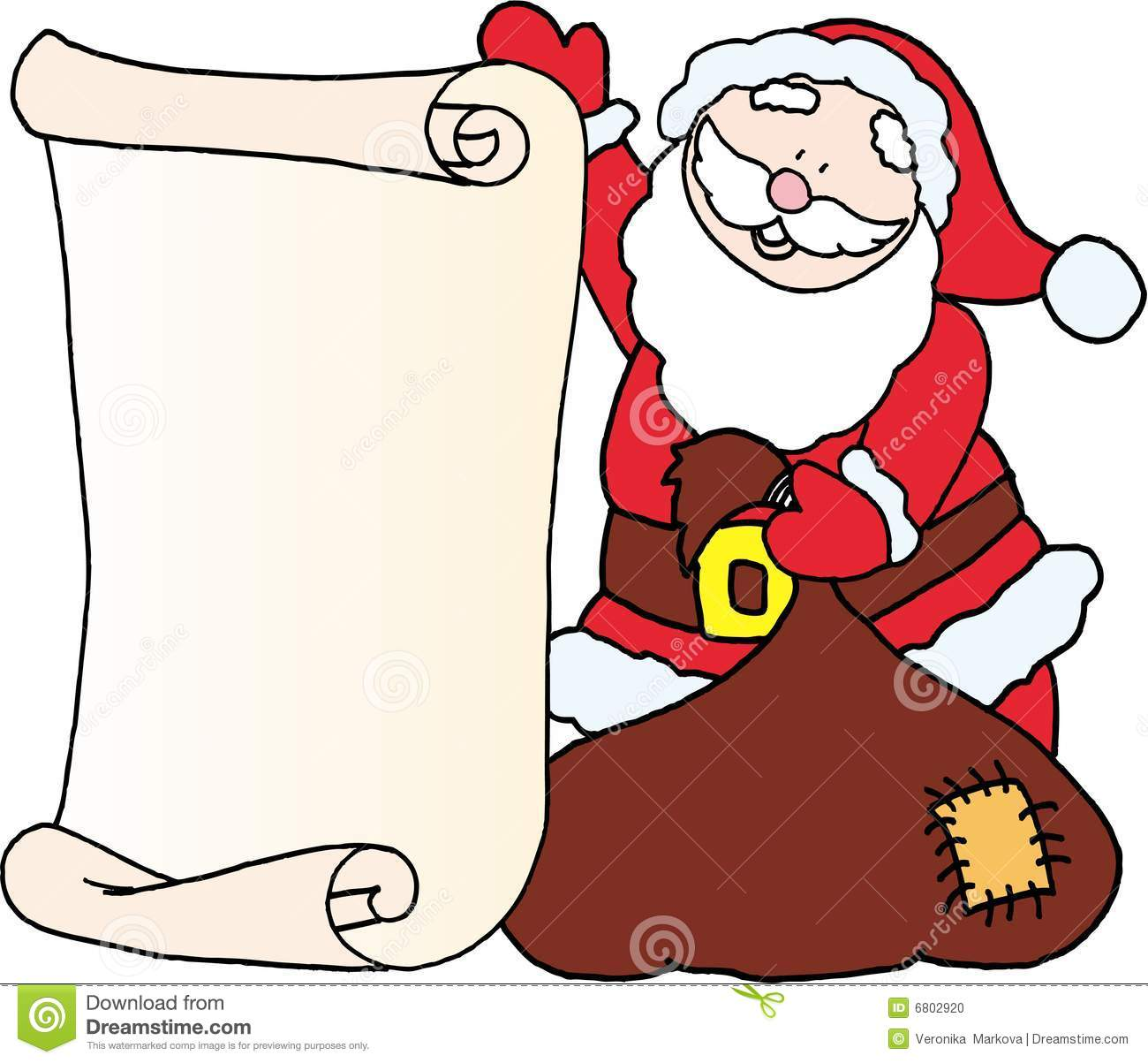 Write A Letter For Santa  Baseball