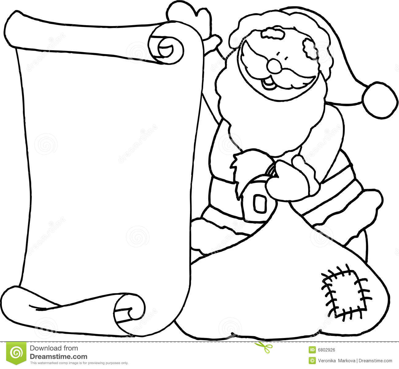 santa message letter for santa claus parchment christmas
