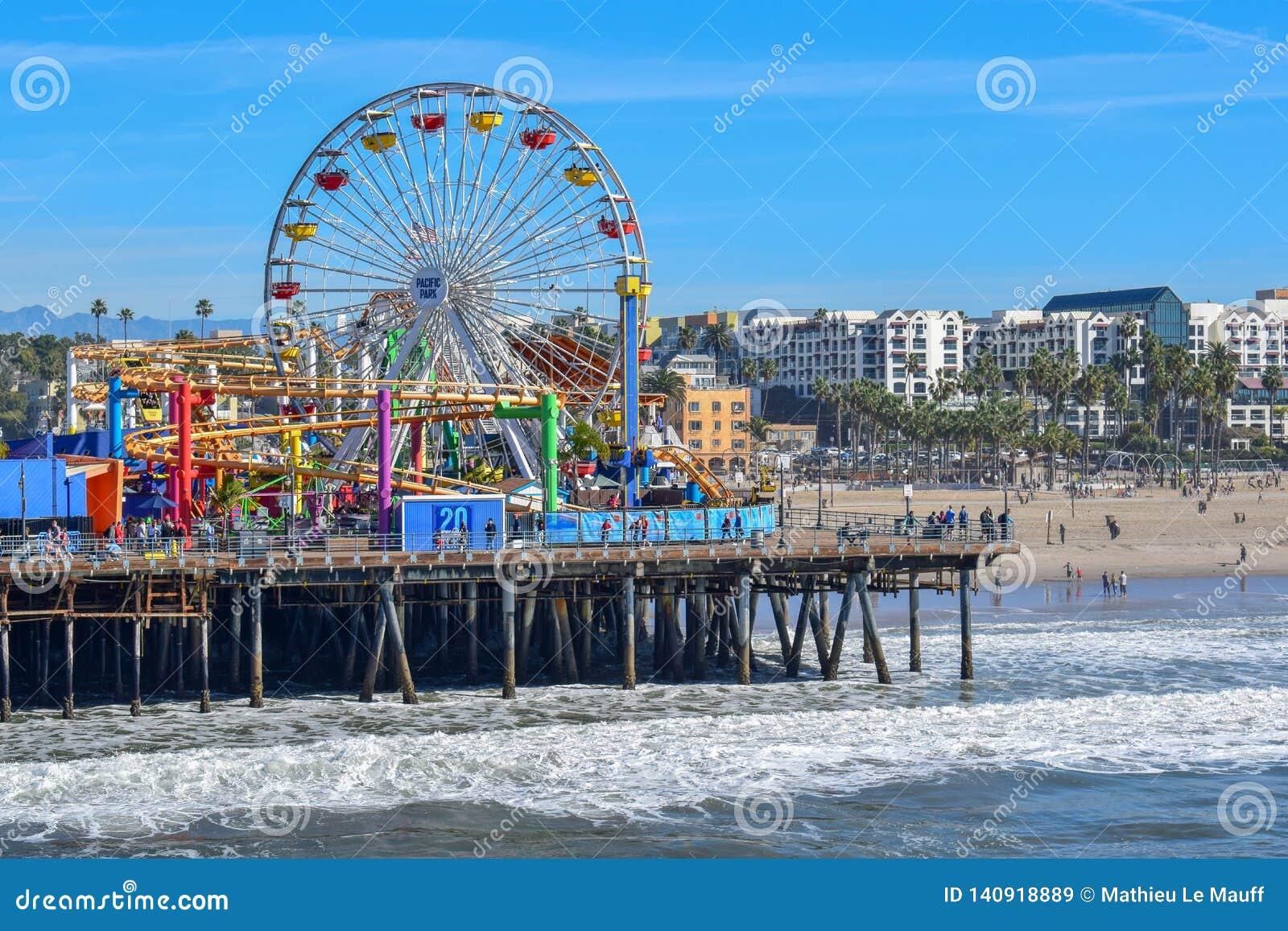 Santa Monica Pier e Ferris Wheel