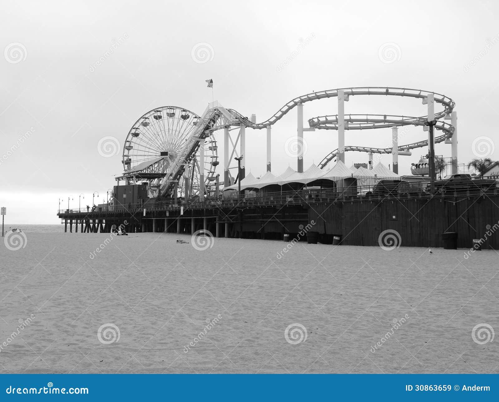 Santa Monica Pier en Los Ángeles
