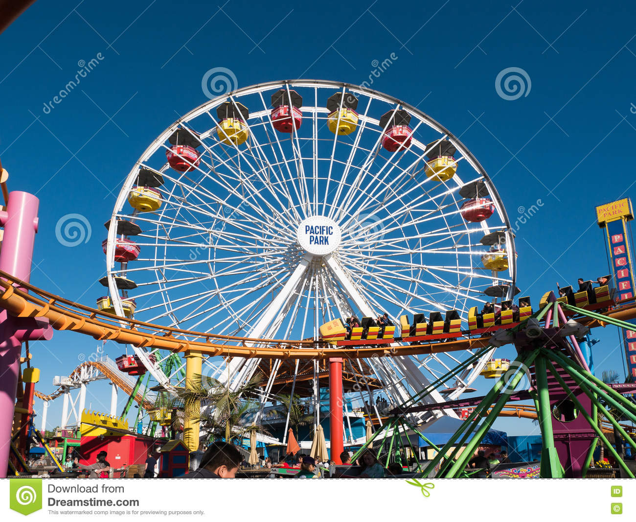 Santa Monica Pier Pacific Park Amusement Rides