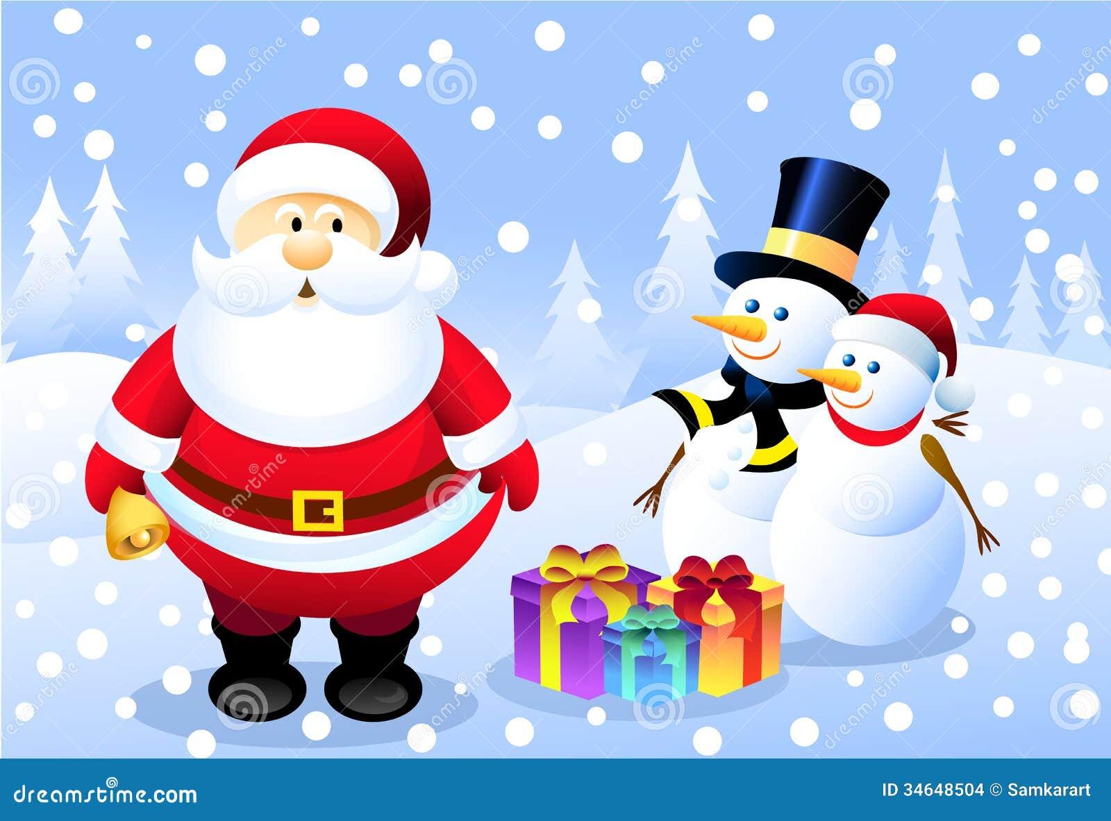 santa mr mrs snowman - Snowman Santa