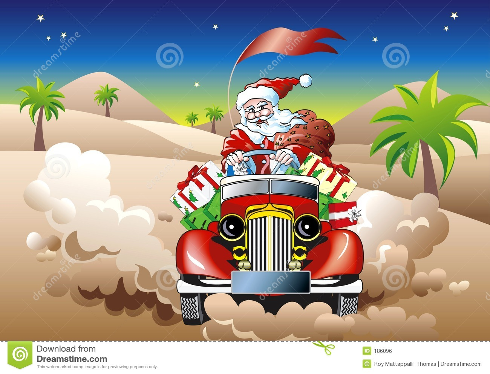 Santa napędu