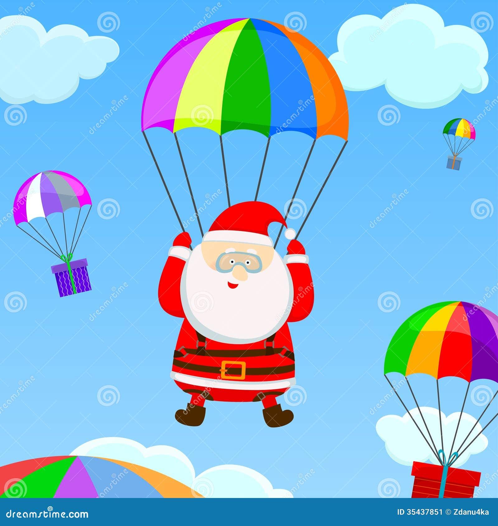 cartoon clipart parachute - photo #38