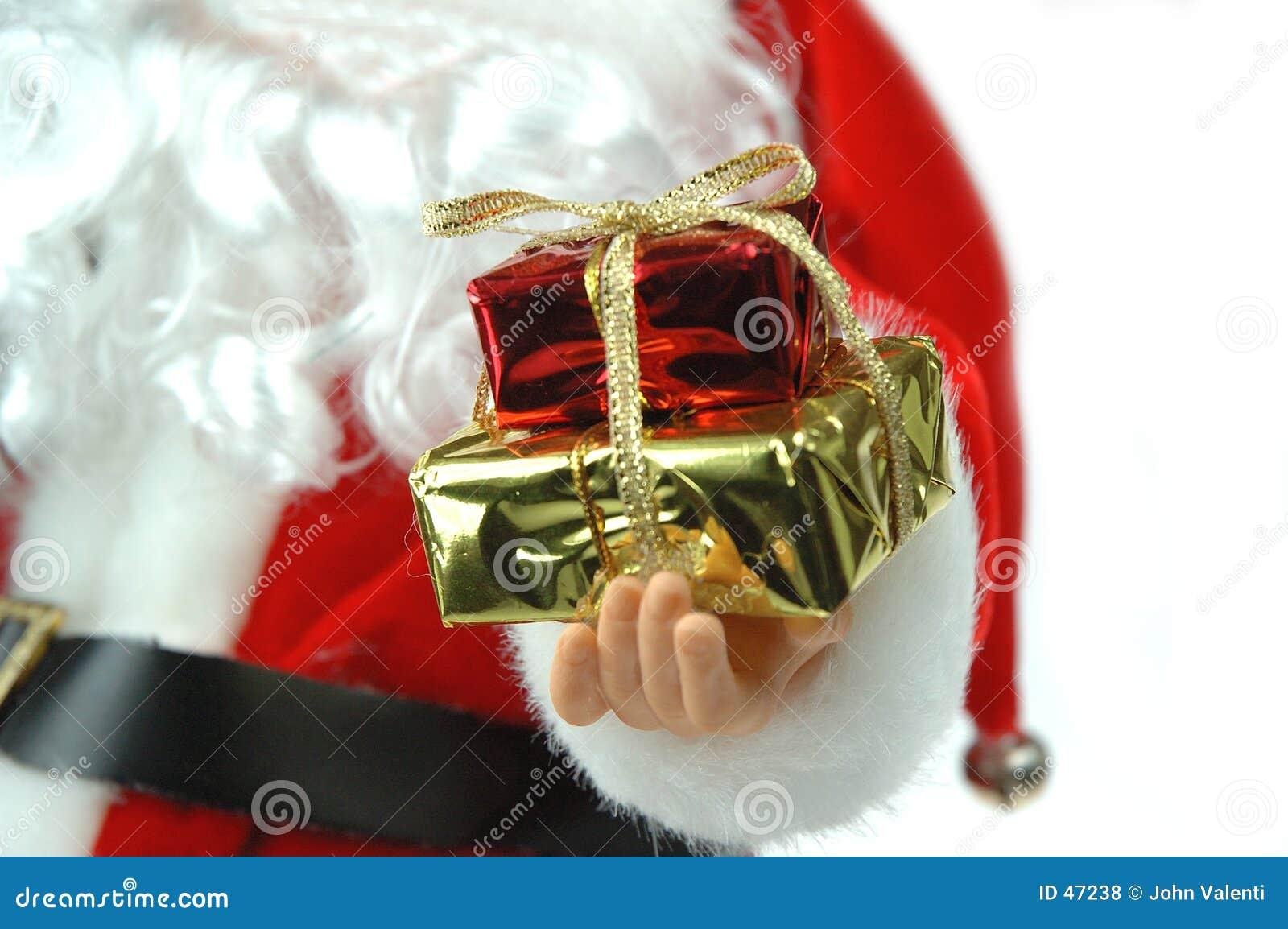 Santa przedstawia
