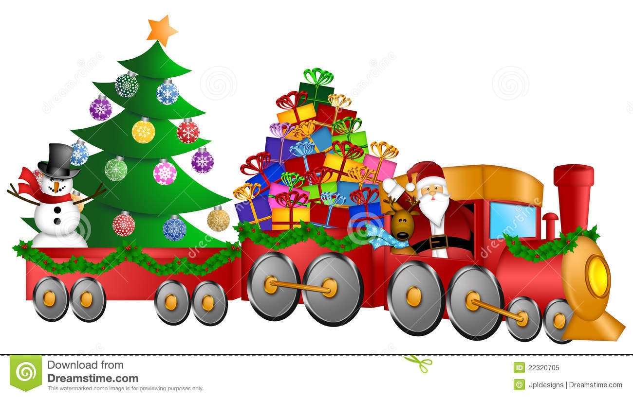 Train For Under The Christmas Tree