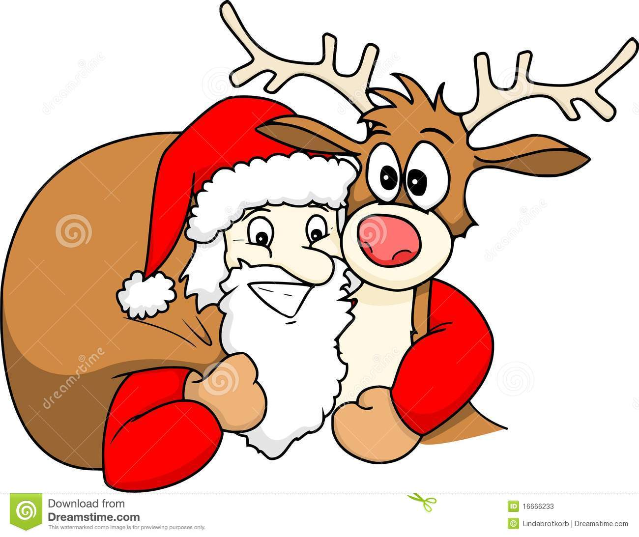 Uncategorized Santa And Rudolph santa and rudolph stock photos image 16666233 royalty free photo download rudolph
