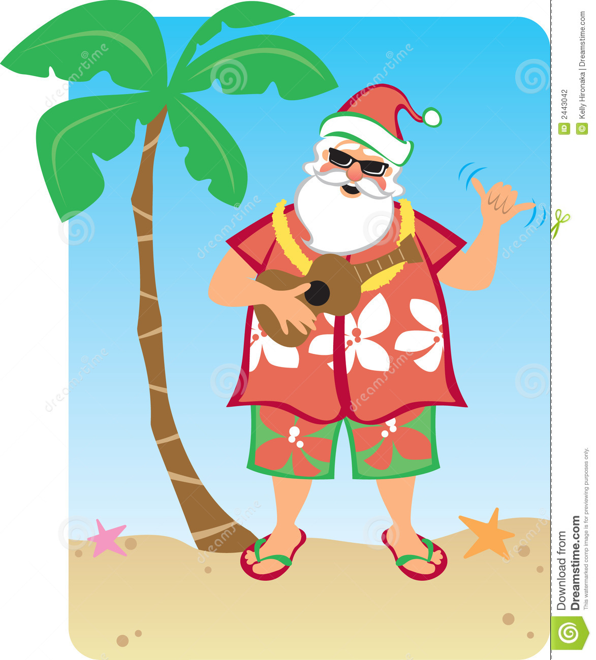 free clip art hawaiian christmas - photo #35
