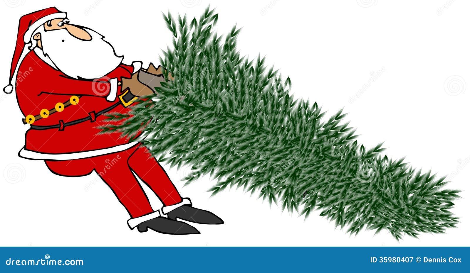 Pull Up Christmas Tree