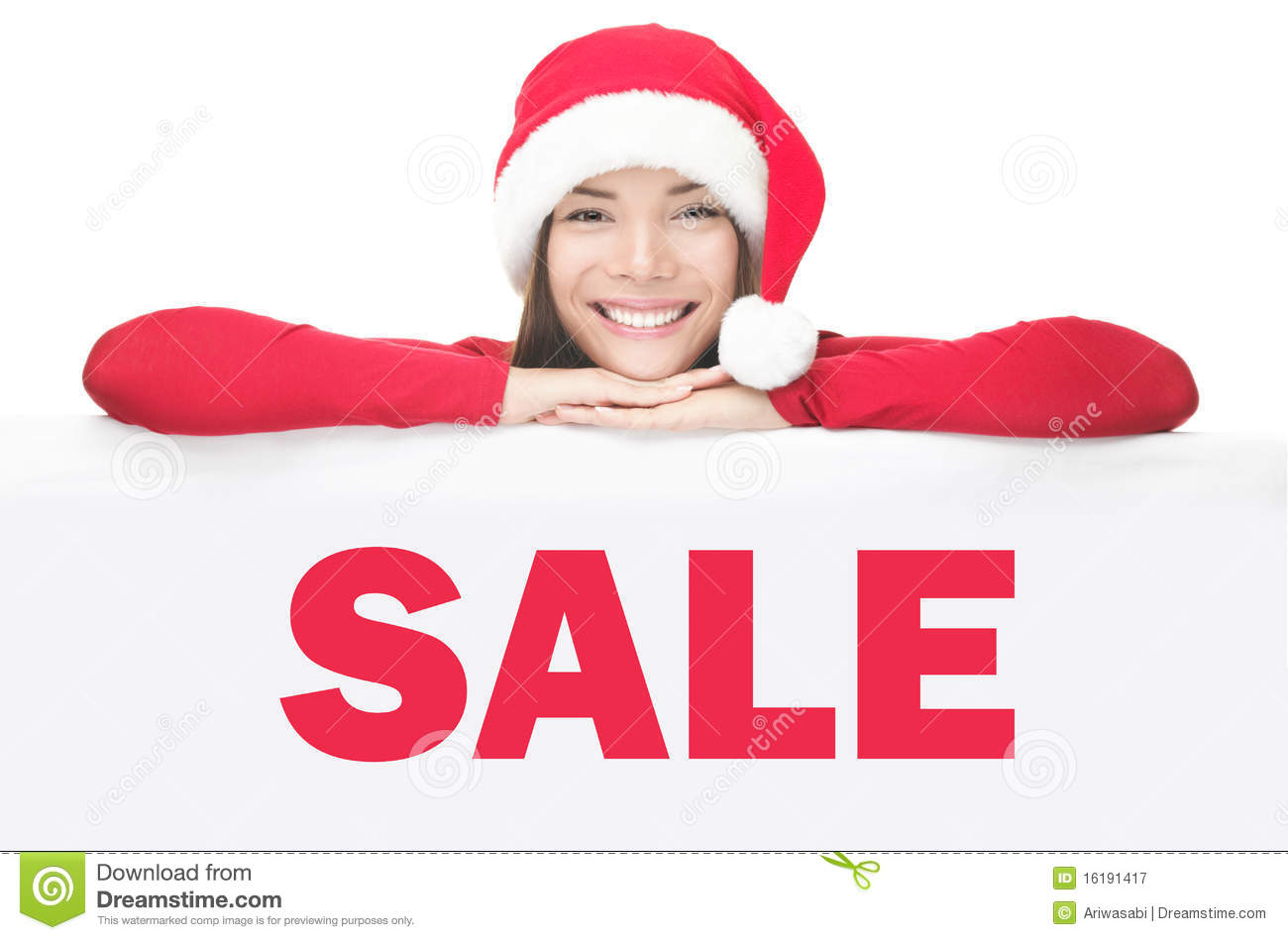 Santa Woman Showing Sale Sign Board  Car For Sale Sign Template Free