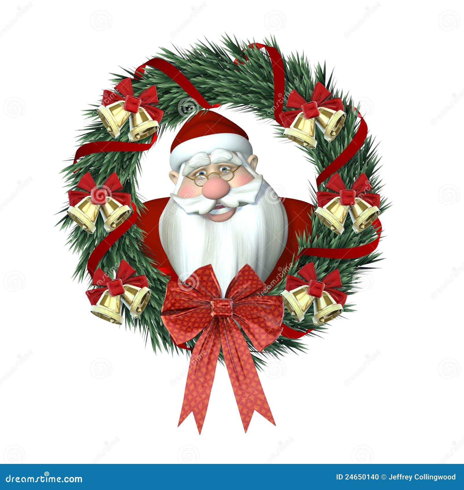 Santa Claus Picture Frame