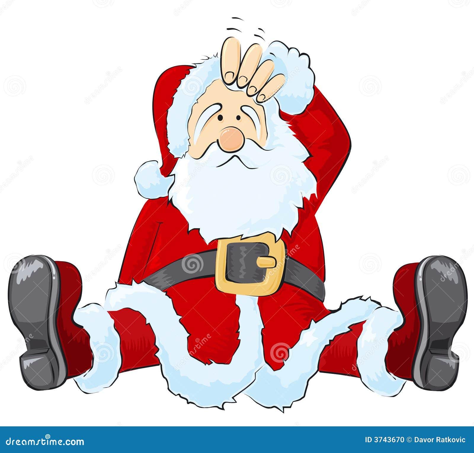 Santa zmieszany