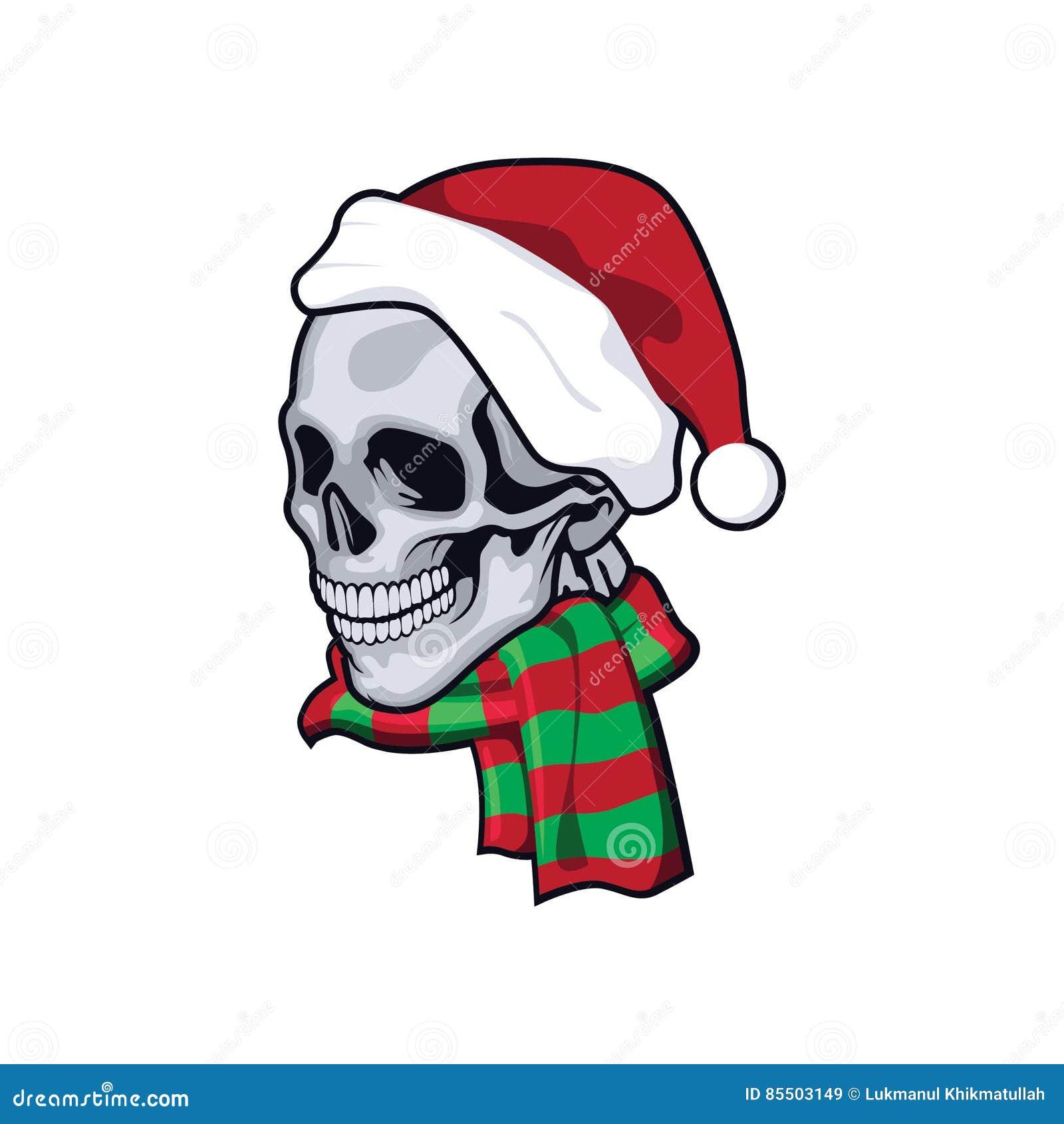 Santaclause czaszka