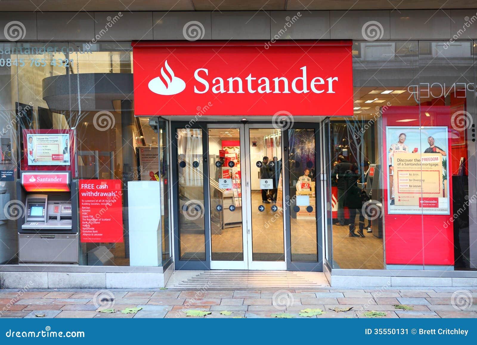 Santander group bank editorial photo image of group - Be up santander ...