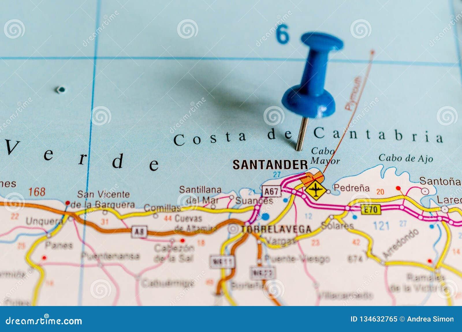 Santander carte