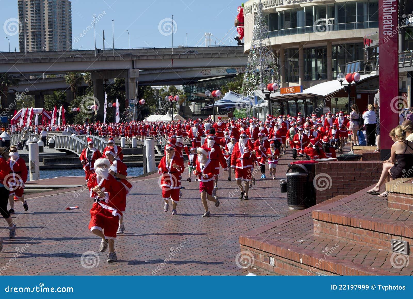 Santas τρεξίματος